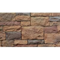 Buy cheap American Style Artificial Culture Stone Textured Stone Surface Fireproof Simulated Slate from wholesalers