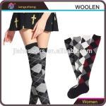 Buy cheap Design Custom Knee High Wool Socks For Girl from wholesalers