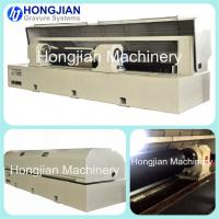Buy cheap Laser Engraving Machine for Etching Mask Ablation Fiber Laser Beam Embossing Rollers Decorative Cylinders Security Print product