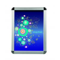 Buy cheap Advertising Silver Snap Frame Poster HolderMitred Corner Various Size from wholesalers