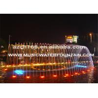 Buy cheap LED Light Decorative Decorative Garden Water Fountains Outdoor Or Indoor Dancing from wholesalers