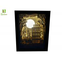 Buy cheap Promotional Retail Display Props , Backlit Silhouette Shadow Box LED 5V Power from wholesalers