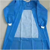 Buy cheap EN13795 FDA 510K SMS Disposable Surgical Gown from wholesalers