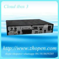 China cloud ibox3 satellite receiver with black hole on sale