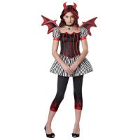 Buy cheap Religion  Little Girl Halloween Costumes , Strangelings Devil Cute Teen Costumes from wholesalers
