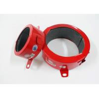 Buy cheap Red ASTM Fire Rated Pipe Collars , Hardware Tools Fire Resistant Pipe Collars from wholesalers