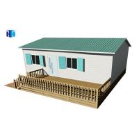Buy cheap Chinese manufacturers export luxury prefab movable house kits from wholesalers