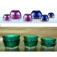 Buy cheap square acrylic cream jar and acrylic lotion bottle,cosmetic packing product