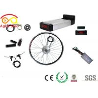 Buy cheap Electric Front Wheel Bike Conversion Kit , Power Assisted Bicycle Kits With Hand Grip from wholesalers