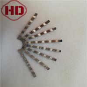 China 38x2x0.5mm  Reinforced Concrete Rebar Fiber on sale
