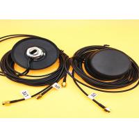 Buy cheap Black GPS Puck Antenna With Rubber Pad Base , 2*5m 4G LTE Signal Booster Antenna from wholesalers