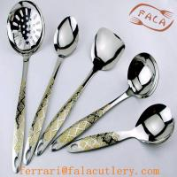 Buy cheap Fancy Gold Plated Stainless Steel Kitchenware Hanging Set from wholesalers