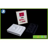 Buy cheap White Flocking Hairy Luxury Plastic Cosmetic Trays Recycled for Jewelry from wholesalers