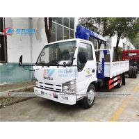 Buy cheap ISUZU Mini Cargo Lorry Mount 2Tons 3.2Tons Telescopic Boom Crane for philippines from wholesalers