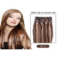 Buy cheap Beauty Dream Girl Light Brown Hair Extensions Clip In Virgin Hair from wholesalers