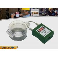 Buy cheap Easy to Install Workshop Safety Emergency Stop Lockouts with Glass resin PC from wholesalers