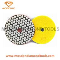 Buy cheap 125mm Resin Dry Polishing Pads for Marble Terrazzo Limestone from wholesalers