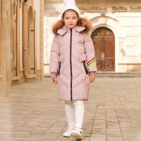 Buy cheap High Quality Kids Clothes New Style Jacket Outdoor Girl Winter Coat Russian High Rock Padded Down Jacket from wholesalers