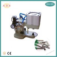 Buy cheap Factory hot sell CE certified Semi Automatic Shoelace Metal Head Tipping Machine from wholesalers