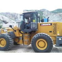 Buy cheap Large Construction Equipment Front End Wheel Loader With 4.2 CBM Bucket Volume from wholesalers