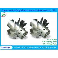 Buy cheap Custom Aluminum Commercial Aircraft Spare Parts 5 Axis Cnc Machining from wholesalers