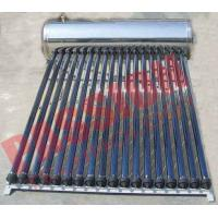 Buy cheap Automatic Solar Water Heating System , Black Pipe Solar Water Heater Multi Purpose from wholesalers
