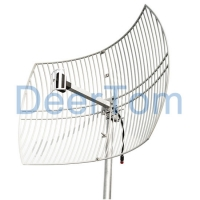 Buy cheap 2500-2700MHz Wimax Grid Parabolic Antenna 24dBi LTE Parabolic Antena Long Range from wholesalers
