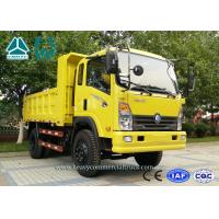 Buy cheap Yellow CDW 4 X 2 Mining Dump Truck 4 Ton With Extended Cabin Diesel Engine from wholesalers