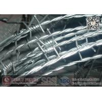 Buy cheap Double Twist Barbed Wire | 12X14# Galvanised Barbed Wire from wholesalers