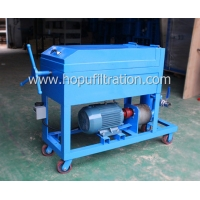 Buy cheap Steel Plate And Frame Lube Oil Purifier,Portable Cooking Oil Filtering Device,Particle Removal,Blue Color,3000L Per Hour from wholesalers