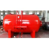 Buy cheap Carbon Steel 10 Ton Foam Bladder Pressure Vessel Tank Horizontal Type from wholesalers