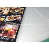 Buy cheap Crack Resistance Pouch Laminating Film A5 , Small Menu Laminating Pouches from wholesalers
