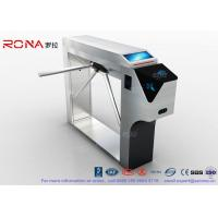 Buy cheap Bar Code Ticketing System Access Control Tripod Turnstile Gate of 304 stainless steel product