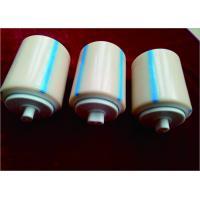 Low Friction Coefficient Plastic Nylon Rollers Dia 89X100mm Fertilizer Industrial