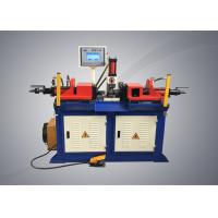 Buy cheap Double Head Tubeend Forming Machine , Semi Automatic Steel Pipe Forming Machine from wholesalers