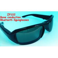 Buy cheap High quality bone conduction bluetooth wireless sunglasses zp102 with polarized lens for mobile from wholesalers