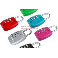 Buy cheap Hot sale Zinc Alloy Security 3 Combination Travel Suitcase Luggage Code Lock Padlock from wholesalers