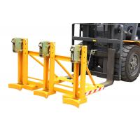 Buy cheap Small Measurement Drum Clamping Attachment Lift 3 Drums A Time from wholesalers