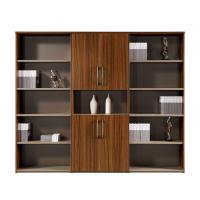 Buy cheap Wooden Home Filing Cabinet , Black Wood File Cabinet 800*400*2000Hmm Size from wholesalers