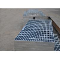 Buy cheap 32 X 5mm Steel Walkway Grating , Flat Hot Dipped Galvanised Steel Grating from wholesalers