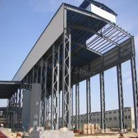 Buy cheap Wind-Resisting Prefab Steel Structure Shed Buildings with Nice Quality from wholesalers