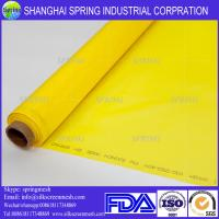 Buy cheap Medical Equipment Printing Material Mesh 300 mesh screen white & yellow color from wholesalers
