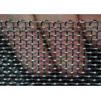 Buy cheap Heavy Duty Stainless Steel Wire Mesh Woven Crimped For Filtration , Stable Structure from wholesalers