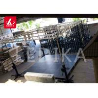 China Heavy Duty Elevator Lift Speaker Tower Stand Truss Array Line 200kg Loading Capacity on sale