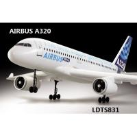 Buy cheap Simulated model plane 2.4G 4CH RC Airbus Plane A320 Brushless TS831,Brushless model plane from wholesalers