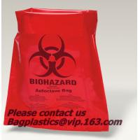 Buy cheap Clinical waste bags, Specimen bags, autoclavable bags, sacks, Cytotoxic Waste Bags, biobag, Biohazard sacks, waste dispo from wholesalers