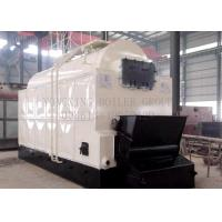Buy cheap 8 T/H Automatic Biomass Fired Steam Boiler  Wood Pellet Fired Steam Boiler Chain Grate from wholesalers
