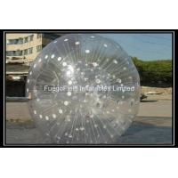 Buy cheap Anti-cold Inflatable Hamster Ball , Inflatable Rolling Ball for Ramp Zorbing from wholesalers
