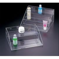 Buy cheap Transparent Acrylic Cosmetic Display , 3 Tier Acrylic Display Case with Drawers from wholesalers