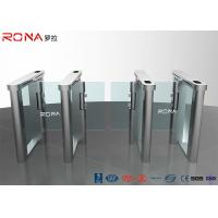 Buy cheap Automatic Flap Barrier Speed Gate Turnstile Access Control System 304 Stainless Steel product